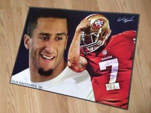 New NFL San Francisco 49ers Colin Kaepernick 17x13 Glossy Poster Paperback
