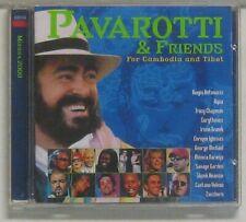 CD    Pavarotti & Friends for   Cambodia and Tibet ( DECCA  )