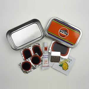 Vintage, Retro Style Puncture Repair Kit Tins, Celebrating Builders, Teams Etc