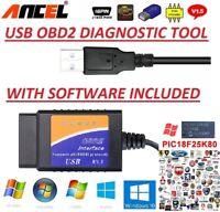 MERCEDES-BENZ A B C OBD2 USB Original Car Code Scanner DIAGNOSTIC TOOL Interface