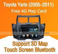 Auto Radio Stereo DVD GPS Navigation Bluetooth for Toyota Yaris 2005-2011