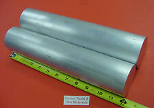 "2 Pieces 2-1/2"" ALUMINUM ROUND 6061 ROD 12"" long T6511 SOLID 2.5 Lathe Bar Stock"