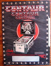 1981 original Bally *CENTAUR* PINBALL MACHINE sales Flyer~4 page fold-out 8.5x11