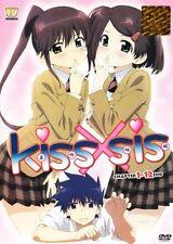 DVD Kissxsis Complete Episodes 1-12end + Free Bonus 1 Anime DVD (Ship out Fast)