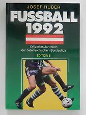 Josef Huber Fussball 1992 Österreichische Bundesliga