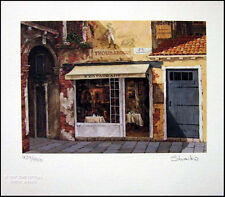 "Viktor Shvaiko Book Litho ""Troubadour Restaurant"" H.Signed Make an Offer!"
