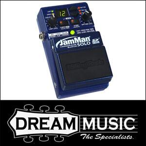 Digitech Jamman Solo Looper Phrase Sampler FX Effect Pedal for Guitar or Bass