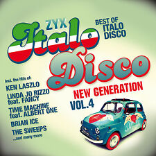 CD zyx Italo Disco New génération 4 de various artists 2cds