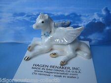 Hagen Renaker Pegasus Lying Figurine Ceramic Miniature 0832 FREE SHIPPING NEW
