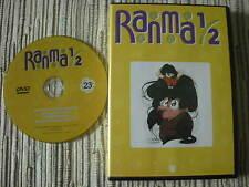 DVD ANIMACIÓN MANGA RANMA 1/2  LA SERIE DE TV VOLUMEN 23 USADO BUEN ESTADO
