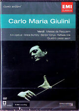 DVD GIULINI: VERDI Requiem & Quattro pezzi sacri GRACE BUMBRY Ilva Ligabue EMI