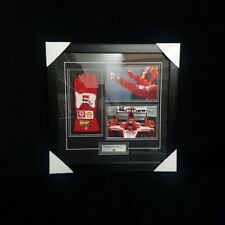 MICHAEL SCHUMACHER SIGNED Autographed F1 GLOVE Replica COA Fully Wood FRAMED