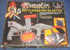 1986 Coffret COSMOCATS 15 Pièce Battlemaster Blaster avec étui Original Vintage