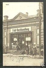 Kowel Kovel Field Bookstore Soldiers Russia Ukraine 1916
