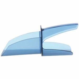 San Jamar Saf-T-Scoop 12-16 oz Blue Plastic Fixed Ice Scoop