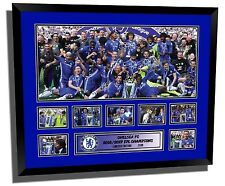 CHELSEA FC 2017 EPL WINNERS SIGNED LIMITED EDITION FRAMED MEMORABILIA