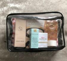 New&sealed 5 Piece Woman's Beauty Travel Kit Giorgio Armani Estee Lauder Etc!!