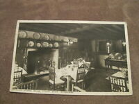 1947 fr Worcestershire postcard - Dining room - Lygon Arms Broadway