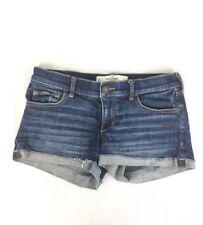 """Abercrombie & Fitch Size 25 Mini Shorts Denim Raw Cuff Hem 3"""" Inseam A25"""