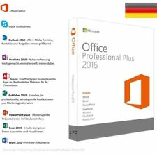 Vollversion Für Microsoft Office Professional 2016 Plus 32 & 64 Bit ESD Key Load