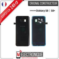Vetro posteriore Nero Carbonio Originale Samsung Galassia S8+ G955