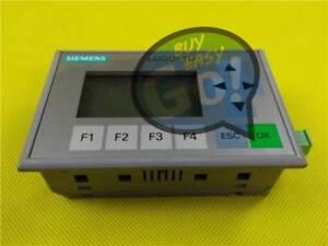 USED 1PCS 6ED1055-4MH00-0BA0 Siemens LOGO! TD Text Display Tested