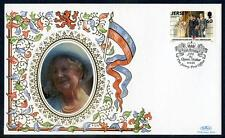 Jersey Silk Cover for  95th Birthday of HM The Queen Mother (2017/06/21#04)
