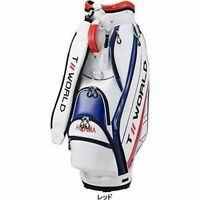 HONMA Golf Men's Sports Caddy Bag TOURWORLD 9 x 47 inch 3.7kg CB-1928 Red