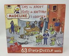 """Briarpatch Madeline """"The Cats Of Rome"""" 63 Piece Jigsaw Puzzle - 100% Complete"""