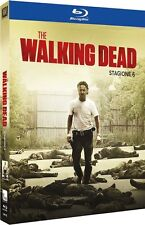 THE WALKING DEAD -STAGIONE 06 (5 BLU-RAY) SERIE TV CULT HORROR EDIZIONE ITALIANA