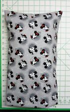 Mickey and Minnie Mouse  -  Small Pillow Case & Travel / Toddler Pillow
