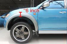 Shinny Workmate Fender Flares Wheel Arches 6 Mitsubishi L200 Triton 05-12 ML MN