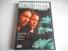 DVD - THE X FILES N°3 SAISON 1 - DVD 3 /  EPISODES 8, 9, 10, 11 - EDITIONS ATLAS
