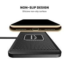 QI wireless Car phone charger fast charging pad mat M5Z9 universal For Sa H7X4