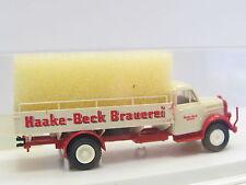 "Brekina 4301 Borgward Getränkepritsche ""Haake-Beck Brauerei"" OVP (L7428)"