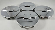 4x Chevrolet Chrome Wheel Center Caps 07-13 Surburban Silverado Tahoe #88963143