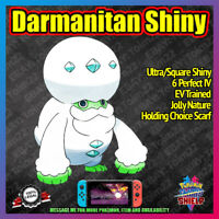 DARMANITAN Shiny | 6IV | Battle Ready | Competitive | Pokemon Sword Shield