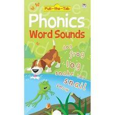 Pull the Tab Phonics - Word Sounds Susie Linn Hardback Childrens Reading New
