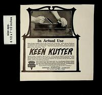 1906 Keen Kutter Simmons Hardware Vintage Print Ad 19524