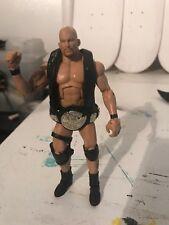 "STONE COLD STEVE AUSTIN WWE ELITE ALL STARS MATTEL 7"" FIGURE With Belt"