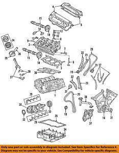 FORD OEM-Engine Oil Pan Gasket 3W4Z6710DA