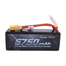 Pile 6750mAh 14.8V 70C 4S HardCase Lipo Batterie XT90 Plug Pour Voiture Camion