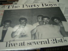 party boys live at the 21st lp plays excellent +like new almost oz rock all star