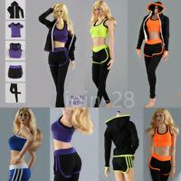 "THREEQ TQ2088 1/6 Scale Fitness Sport Clothes For 12"" Female PH TBL Figure Body"