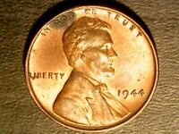 1944 Lincoln Wheat Penny One Cent No Mint Mark Nicely Toned