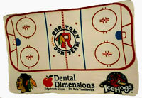 Rockford IceHogs Chicago Blackhawks SGA Promo Blanket New Sealed In Package