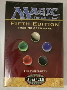 5th Edition 2 Player Starter Deck MTG Magic with Bonus Booster Pack Fifth
