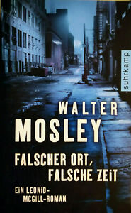 ROMAN - WALTER MOSLEY - falscher ort, falsche zeit -