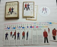 Simply Tai Chi exercise system Graham Bryant & Lorraine James, Book, dvd, cards
