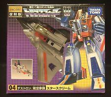 Takara Tomy Transformers G1 ENCORE 04 STARSCREAM